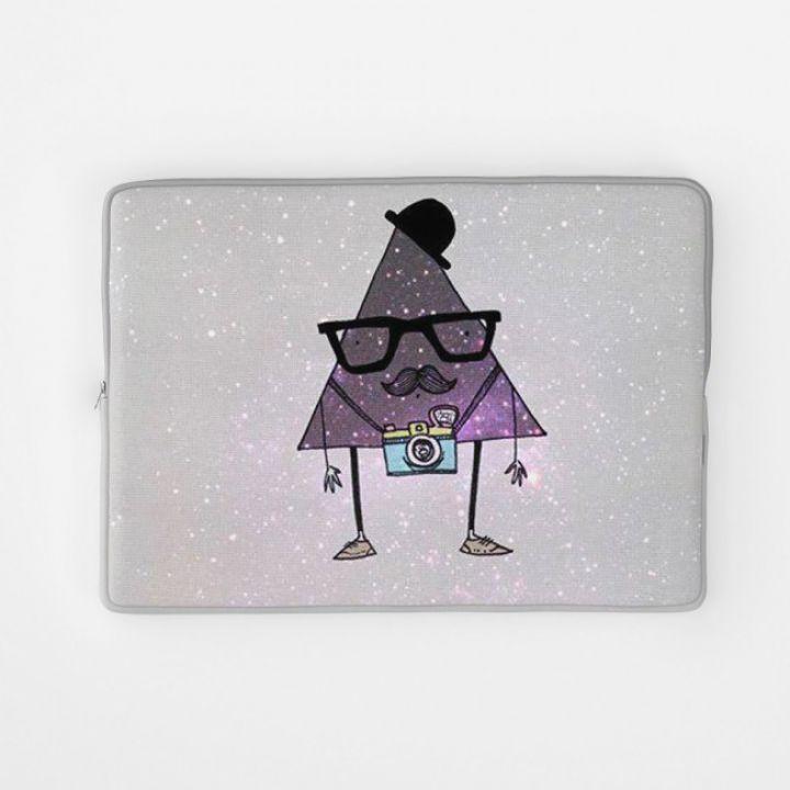 Стильный чехол для ноутбука Хипстерский треугольник