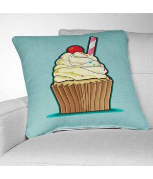 Декоративная подушка с рисунком Cupcake 2
