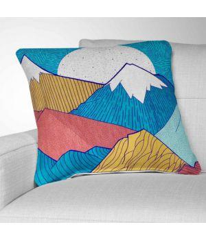 Декоративная подушка с рисунком The Crosshatch Sky by