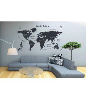 Карта подорожей