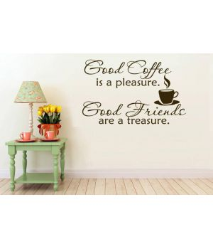 Хороший кофе хорошие друзья