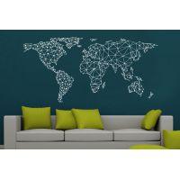Карта мира - оригами