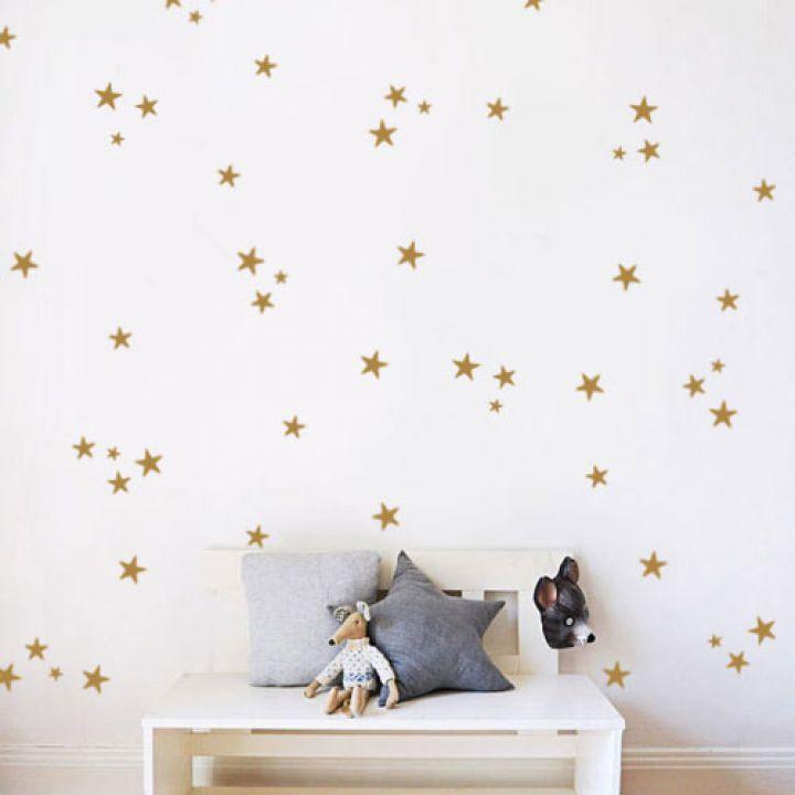 Наклейки для натяжного потолка Звездное небо, Звезды