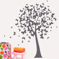 """Интерьерная наклейка """"Дерево бабочек"""""""