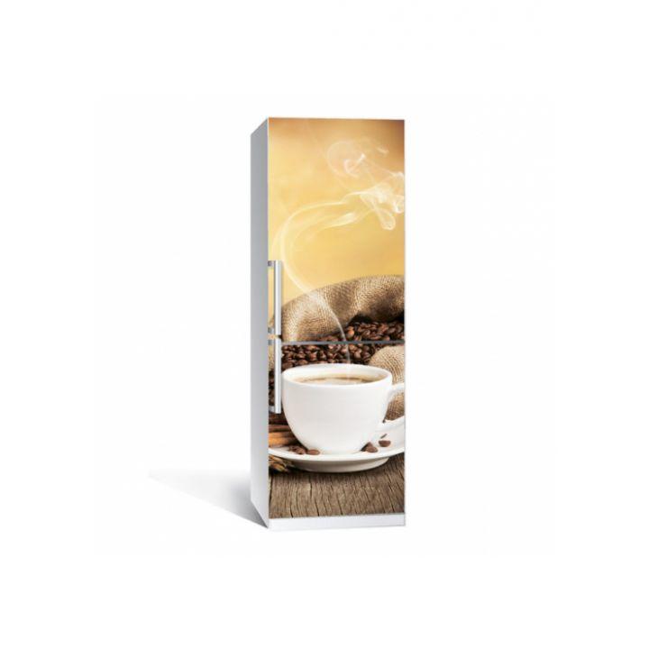 """Интерьерная наклейка """"Кофе 02 Z"""" на холодильник"""