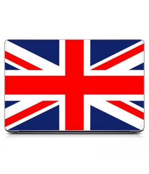 Наклейка на ноутбук - Union Jack