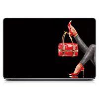 Наклейка на ноутбук - Glossy Feet