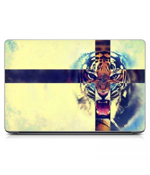 "Универсальная наклейка на ноутбук 15.6""-13.3"" Swag Tiger 380х250 мм"