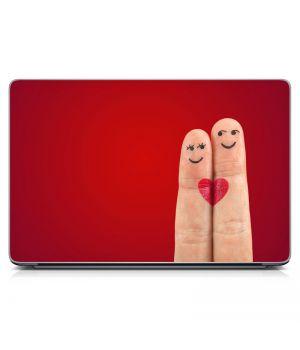 Наклейка на ноутбук - Вместе Навсегда