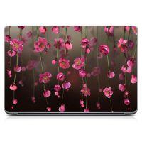 """Універсальна наклейка для ноутбука 15.6""""-13.3"""" Flowers Bloom Матова 380х250 мм"""