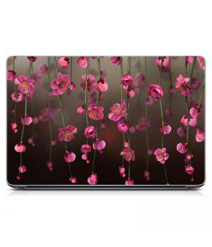 """Универсальная наклейка на ноутбук 15.6""""-13.3"""" Flowers Bloom Матовая 380х250 мм"""