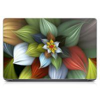 Наклейка на ноутбук - Cosmic Flower