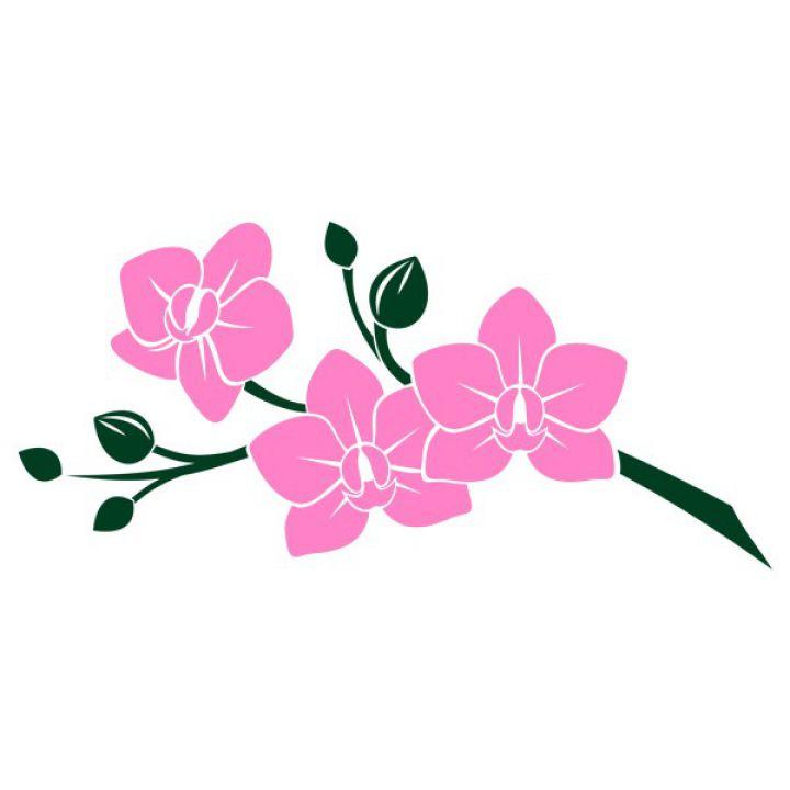 Интерьерная Наклейка Glozis Pink Orchid