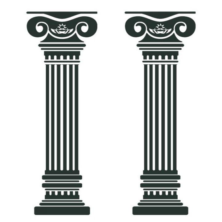 Виниловая Наклейка Glozis Columns