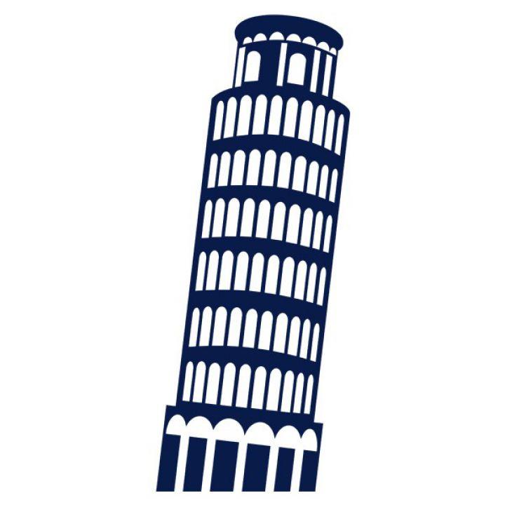 Интерьерная Наклейка Glozis Pisa