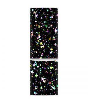 Наклейка на холодильник - Цветные звезды