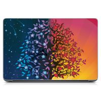 "Универсальная наклейка на ноутбук 15.6""-13.3"" Magic Wood 380х250 мм"