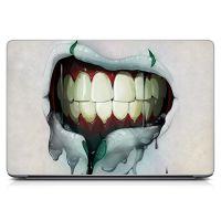 """Универсальная наклейка на ноутбук 15.6""""-13.3"""" Dead Lips Матовая 380х250 мм"""