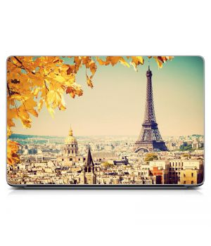Наклейка на ноутбук - Autumn Paris