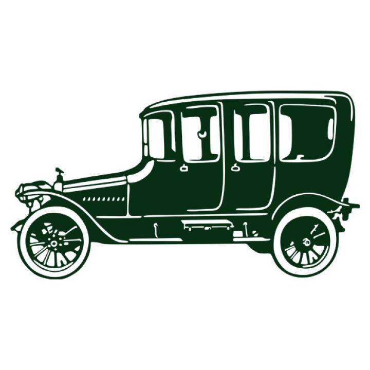 Интерьерная Наклейка Glozis Retro Car