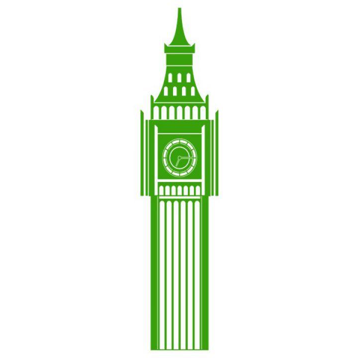 Интерьерная Наклейка Glozis Big Ben