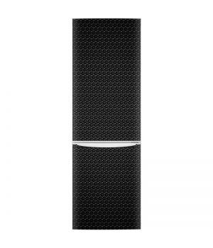 Наклейка на холодильник - Чорний метал