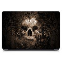 "Универсальная наклейка на ноутбук 15.6""-13.3"" Bones Матовая 380х250 мм"