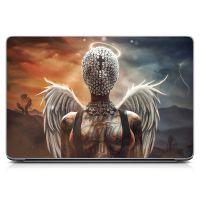 "Универсальная наклейка на ноутбук 15.6""-13.3"" Sexy Angel Матовая 380х250 мм"