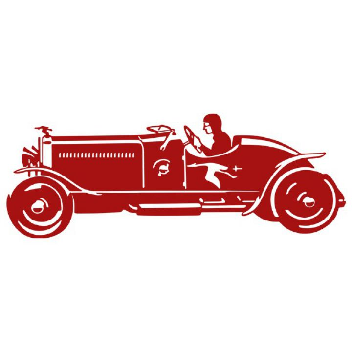 Інтер'єрна Наклейка Glozis Sport Car