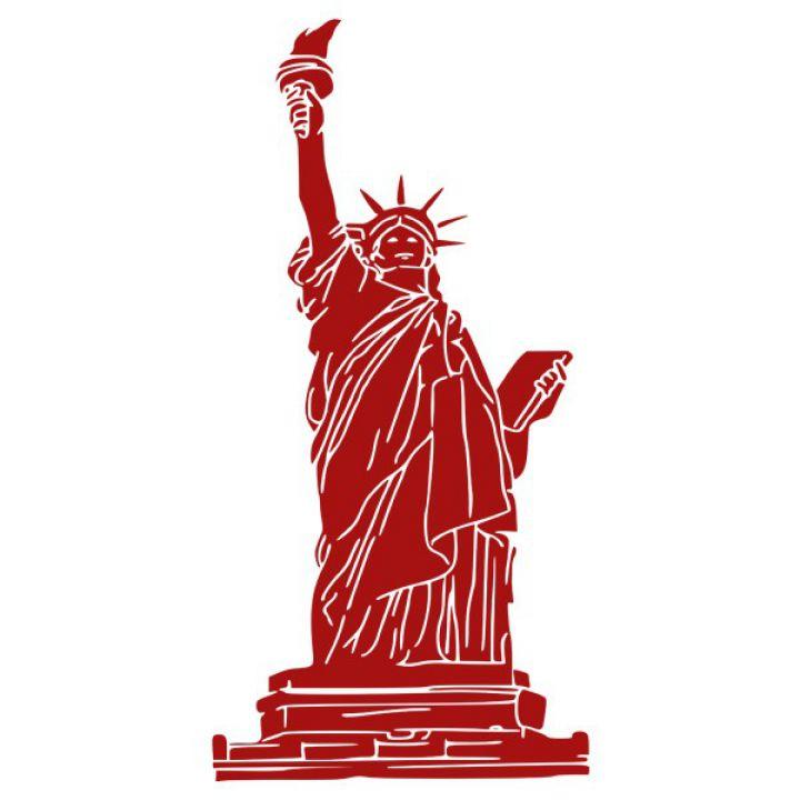Интерьерная Наклейка Glozis Statue of Liberty