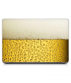 """Універсальна наклейка для ноутбука 15.6""""-13.3"""" I Love Beer 380х250 мм"""