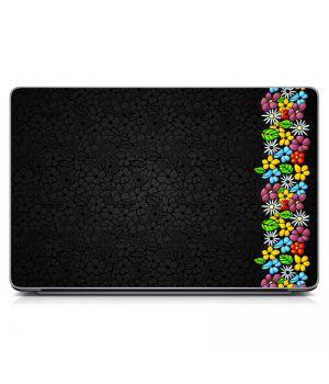 """Універсальна наклейка для ноутбука 15.6""""-13.3"""" Flowers Dream 380х250 мм"""