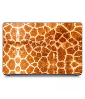Наклейка на ноутбук - Кожа Жирафа
