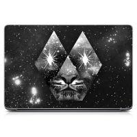 Наклейка на ноутбук - Cosmic Tiger