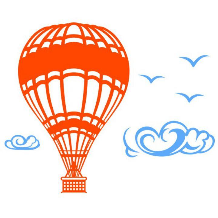 Інтер'єрна Наклейка Glozis Aeroball