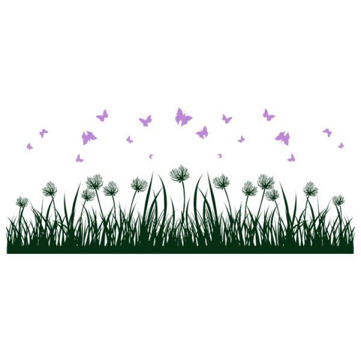 Интерьерная Наклейка Glozis Grass