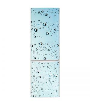 Наклейка на холодильник - Капли дождя