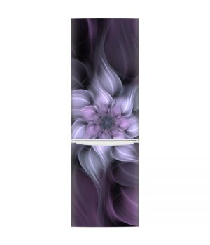 Наклейка на холодильник - Фантастический цветок