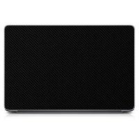 "Універсальна наклейка для ноутбука, 13.3""-17.3"" 400x260 мм Black Carbon Матова"