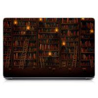 """Универсальная наклейка на ноутбук 15.6""""-13.3"""" Library Матовая 380х250 мм"""