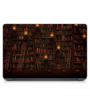 """Універсальна наклейка для ноутбука 15.6""""-13.3"""" Library Матова 380х250 мм"""