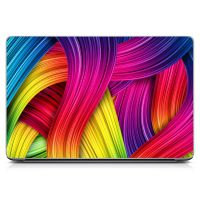 Наклейка на ноутбук - Color Wave