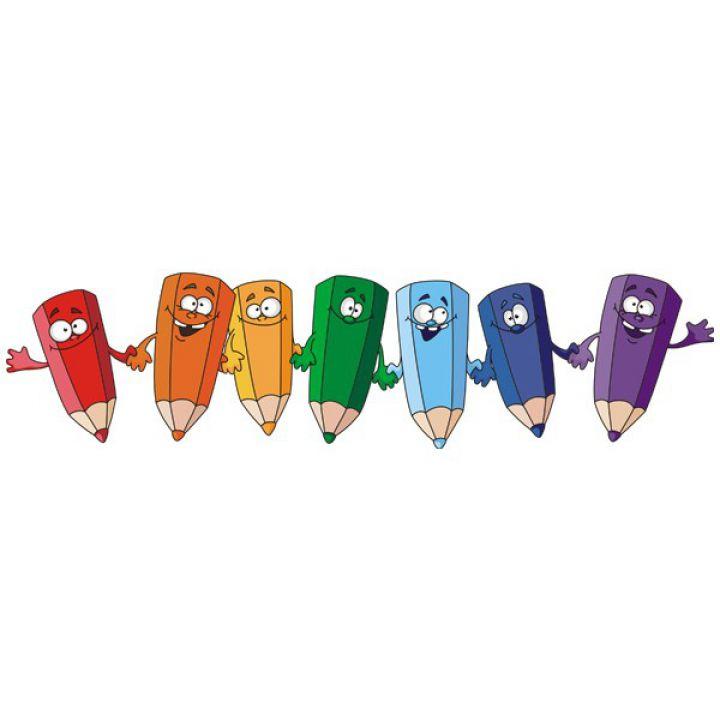 Вінілова Наклейка Glozis Pencils