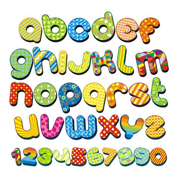 Інтер'єрна Наклейка Glozis Alphabet