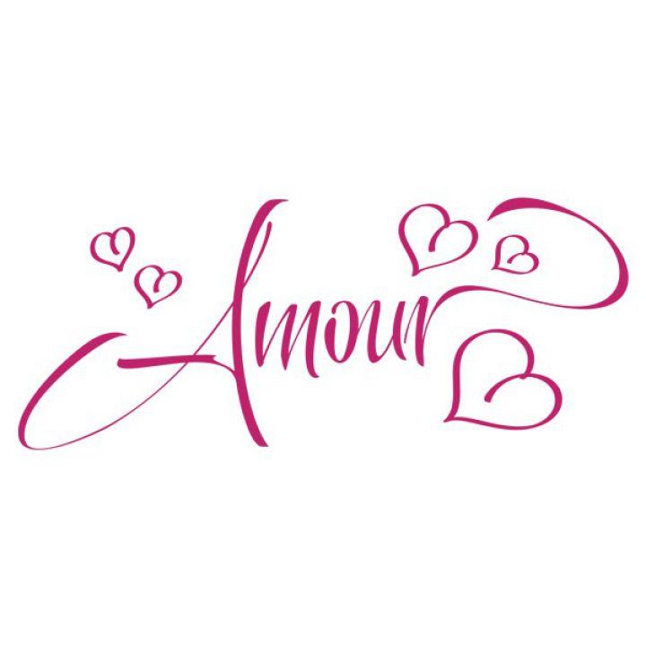 Интерьерная Наклейка Glozis Amour