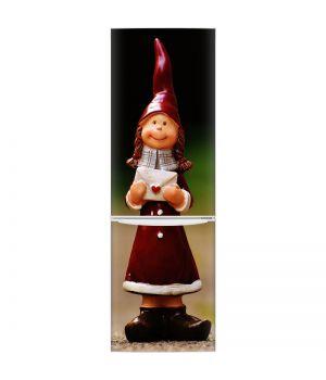 Наклейка на холодильник - Фигурка девочки