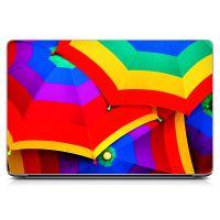 Наклейка на ноутбук - Bright Umbrella