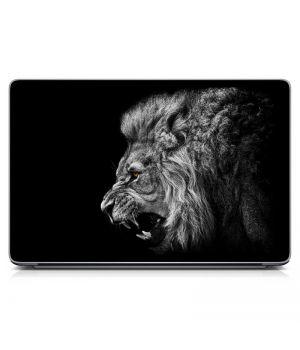 Наклейка на ноутбук - Angry Lion