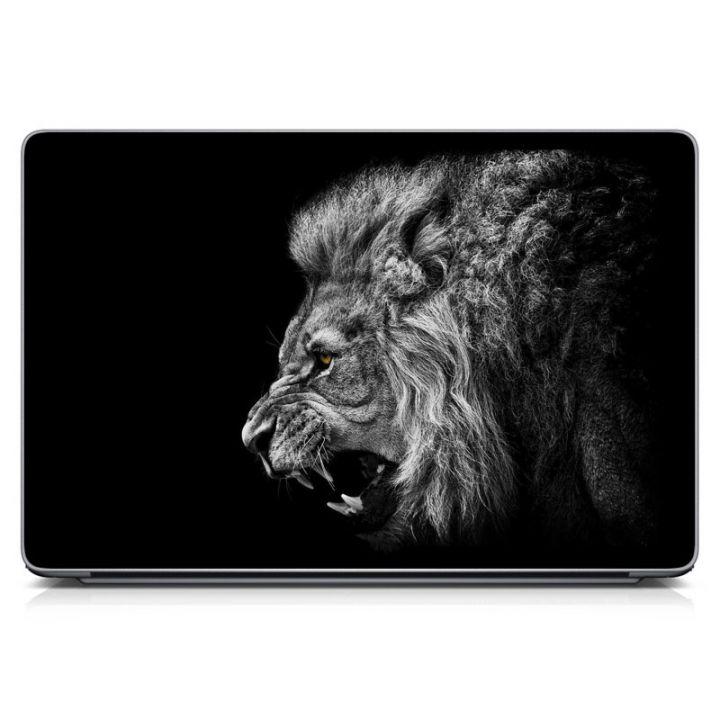 Наклейки на ноутбук Apple - Angry Lion