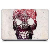 Наклейка на ноутбук - Floral Skull